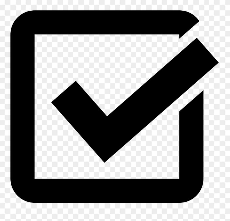 Check Box Clipart - Check Box Icon Transparent - Png ... image library download