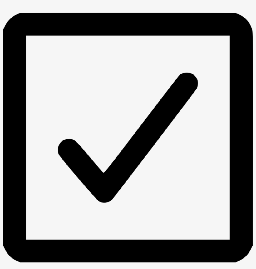 Box With Tick Clipart Checkbox Check Mark Computer ... picture transparent library