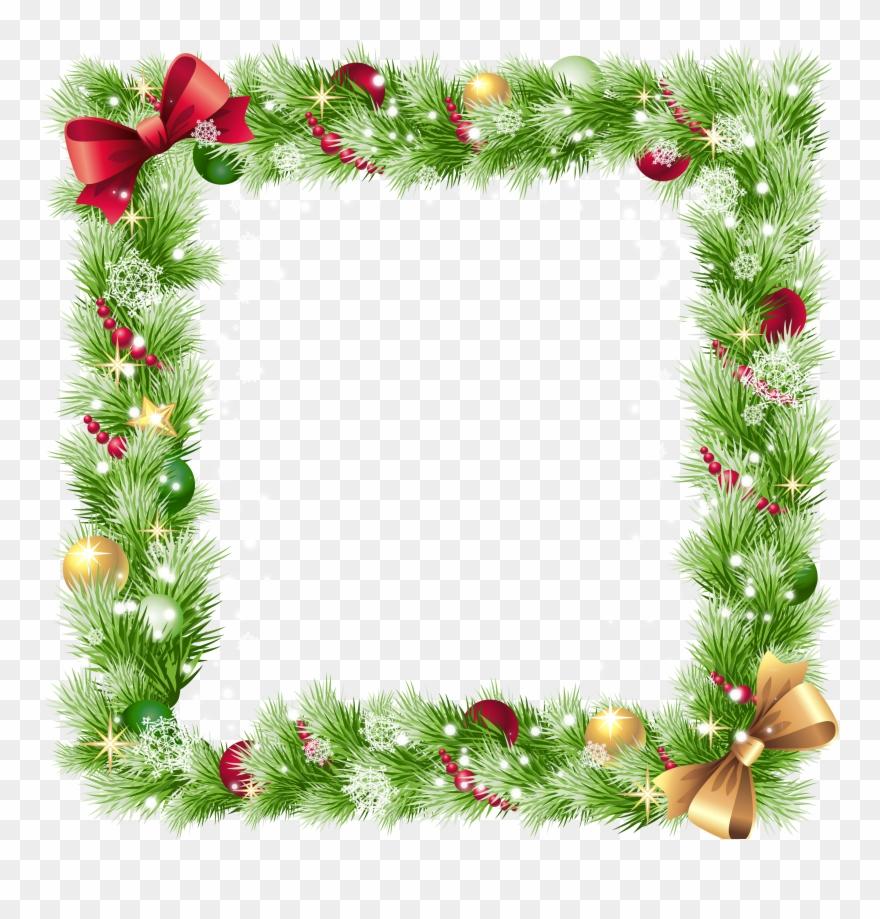 Transparent christmas border clipart clip art transparent download Christmas Border Transparent Background Clipart (#95857 ... clip art transparent download