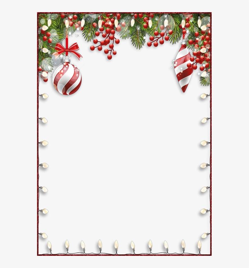 Transparent christmas border clipart clipart free stock Transparent Clip Art Christmas Borders Clipart Borders ... clipart free stock