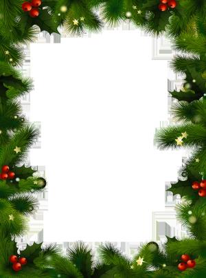 Transparent christmas border clipart vector royalty free stock Christmas borders transparent christmas photo frame with ... vector royalty free stock