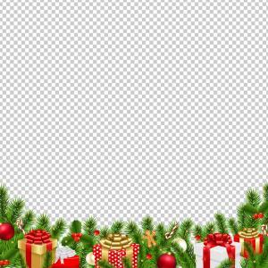 Transparent christmas clipart 1024pixel jpg transparent stock Free Christmas Border Clip Art | HandandBeak jpg transparent stock