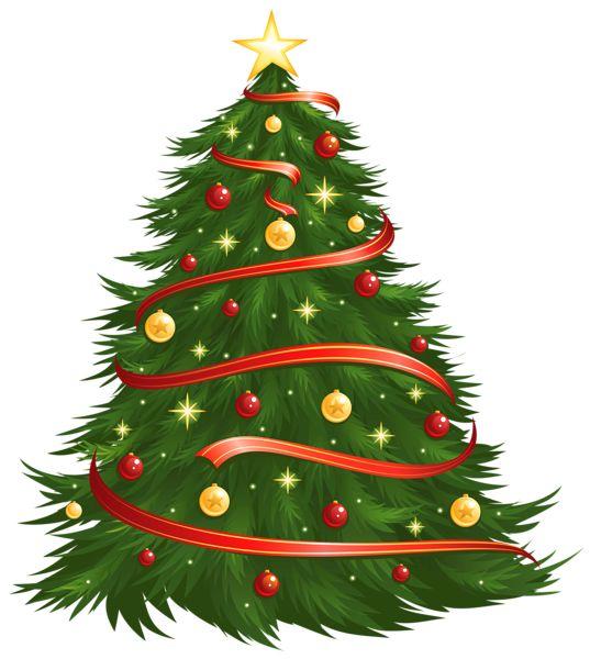 Transparent christmas clipart png transparent Large Size Transparent Decorated Christmas Tree PNG Clipart   gif ... transparent