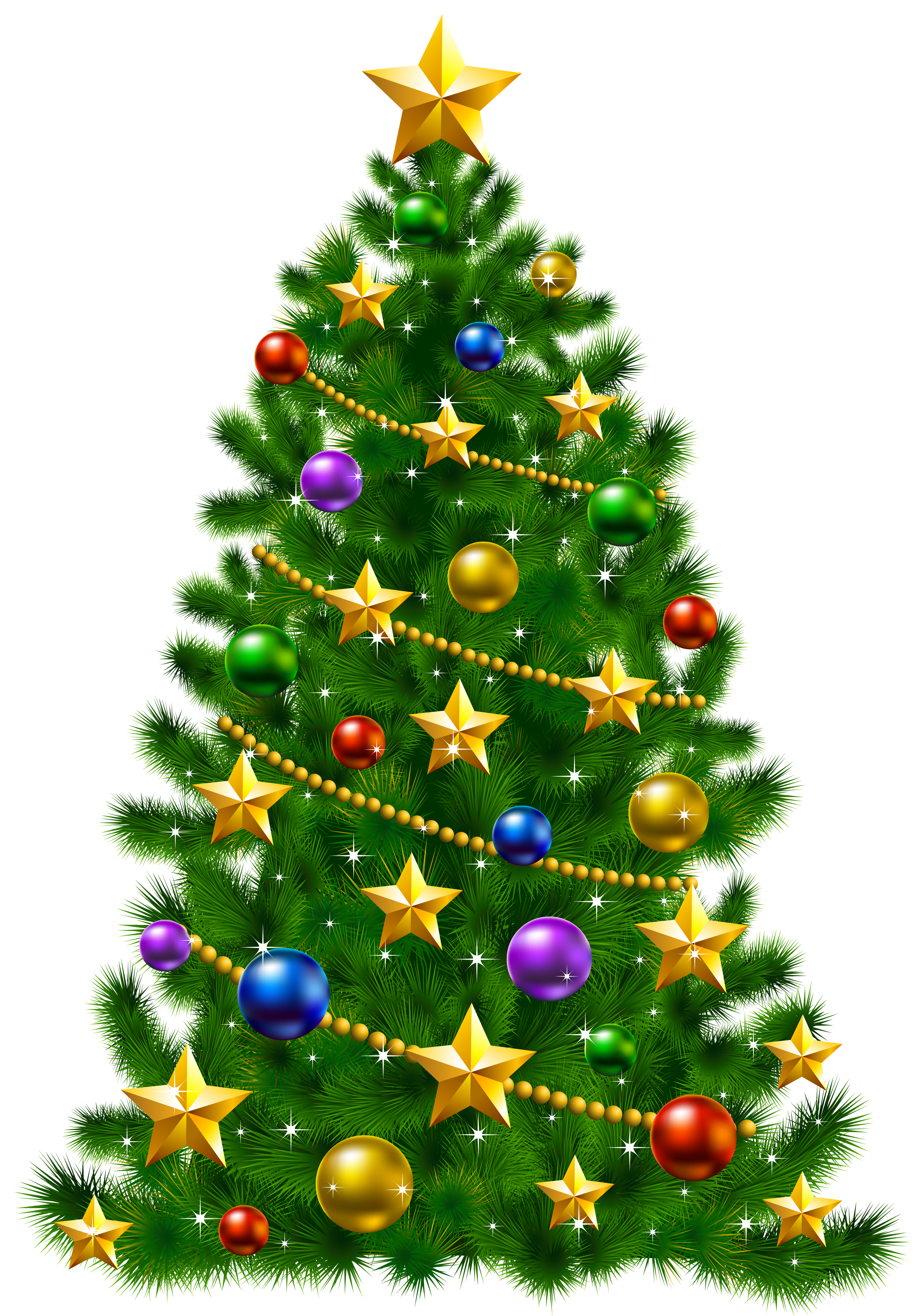 Transparent christmas tree images clipart svg library stock Christmas tree Christmas Day Santa Claus Clip art ... svg library stock