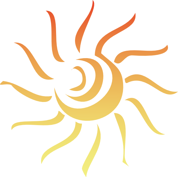 Sun clipart transparent background 3 » Clipart Station banner freeuse library