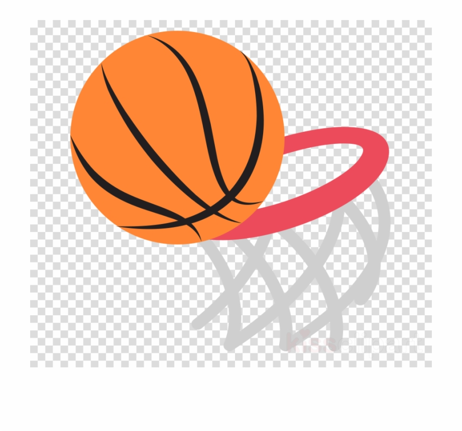 Transparent clipart basketball black and white download Basketball Emoji Clipart Basketball Backboard Canestro ... black and white download