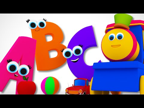 Transparent clipart bob for apples png freeuse Bob The Train | Phonics Song | Learn ABC | Alphabet Song ... png freeuse