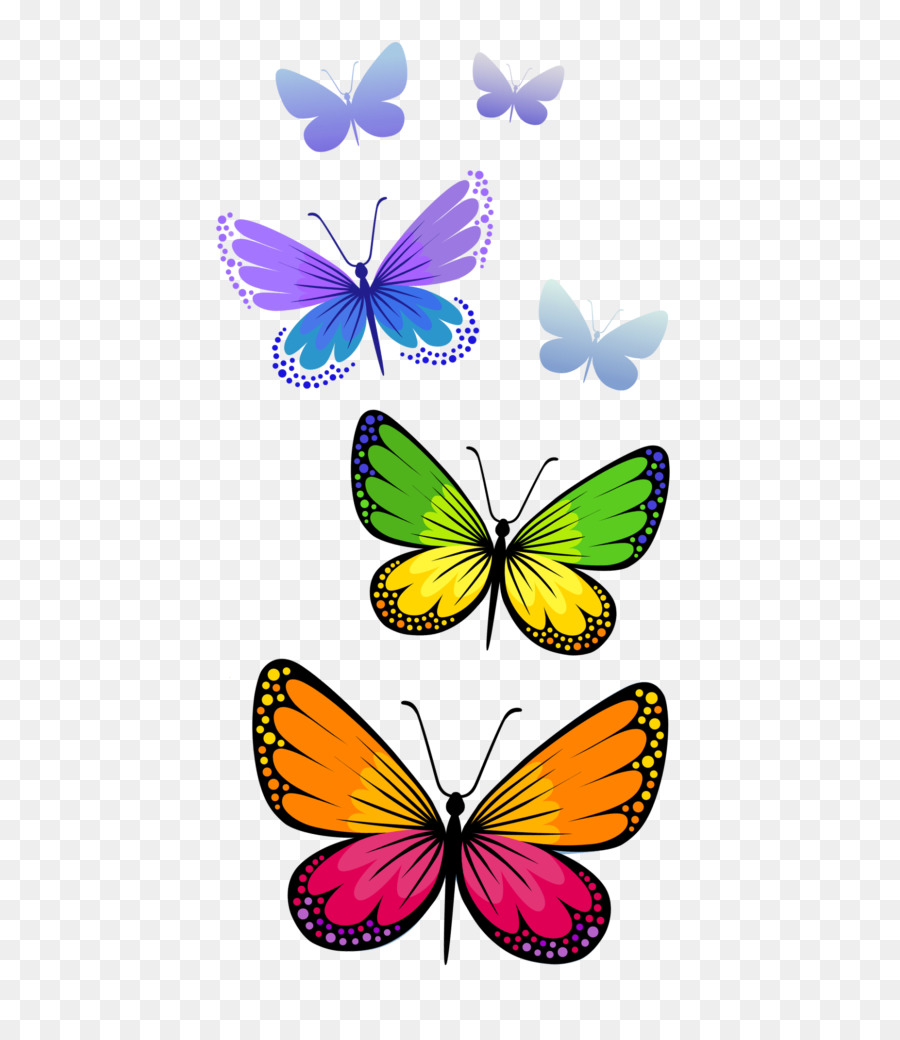Transparent clipart butterfly on flower picture library library Flower Line clipart - Butterfly, Flower, Line, transparent ... picture library library
