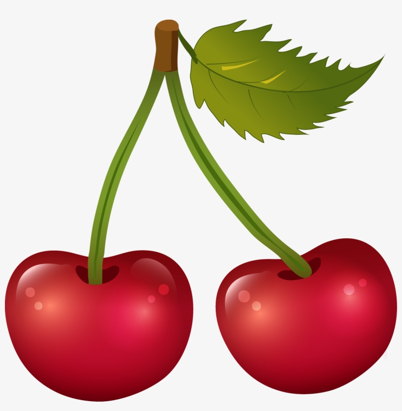 Transparent clipart cherry vector freeuse stock Cherry Png Transparent Free Images - Cherry Clipart ... vector freeuse stock