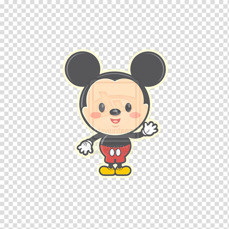 KAWAII DISNEY, Mickey Mouse transparent background PNG ... black and white