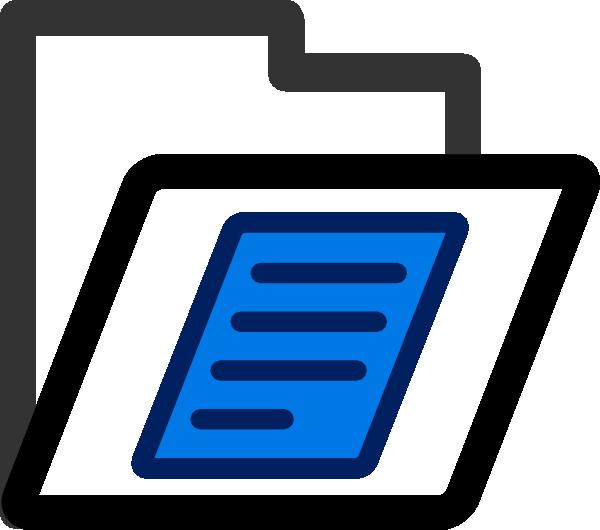File Folder Transparent Clip Art at Clker.com - vector clip ... jpg freeuse download