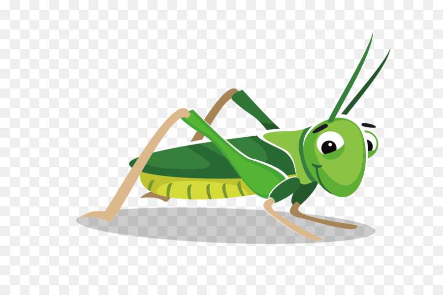 Transparent clipart grasshopper on grass