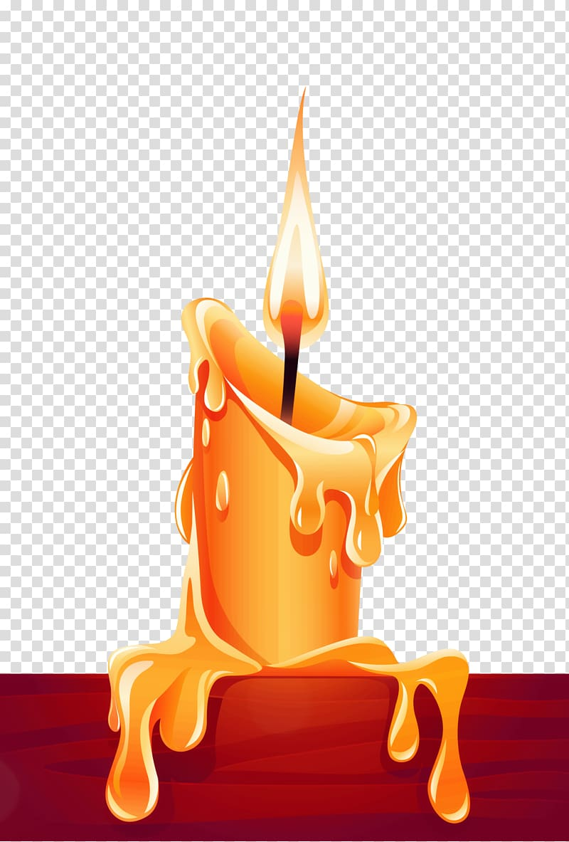 Brown candle art, Candle Light , candle transparent ... clip download