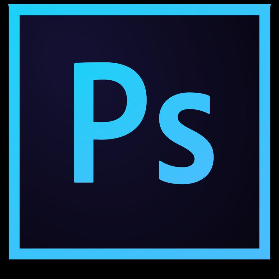 Transparent clipart photoshop clipart black and white stock Photoshop Logo clipart - Blue, Text, Font, transparent clip art clipart black and white stock