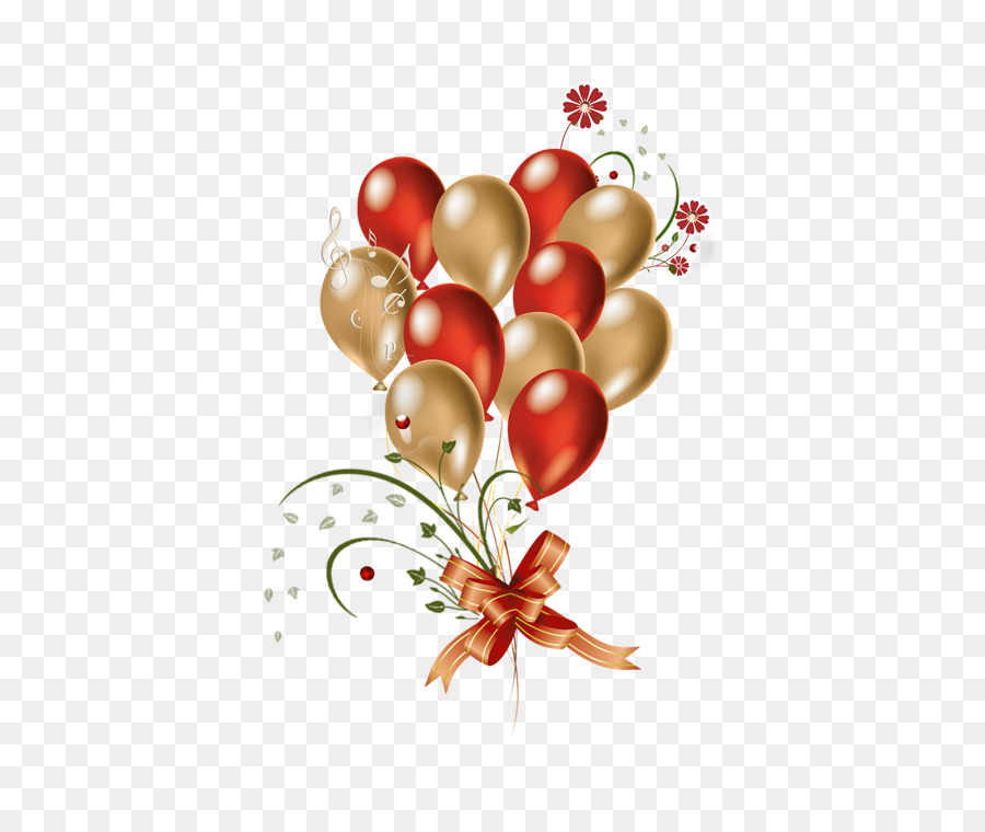 Transparent clipart photoshop picture Red Christmas Ornament clipart - Birthday, Gift, Balloon ... picture