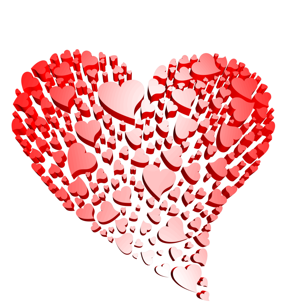 Cool heart clipart jpg black and white Heart Png Images With Transparent Background | Free Download Clip ... jpg black and white