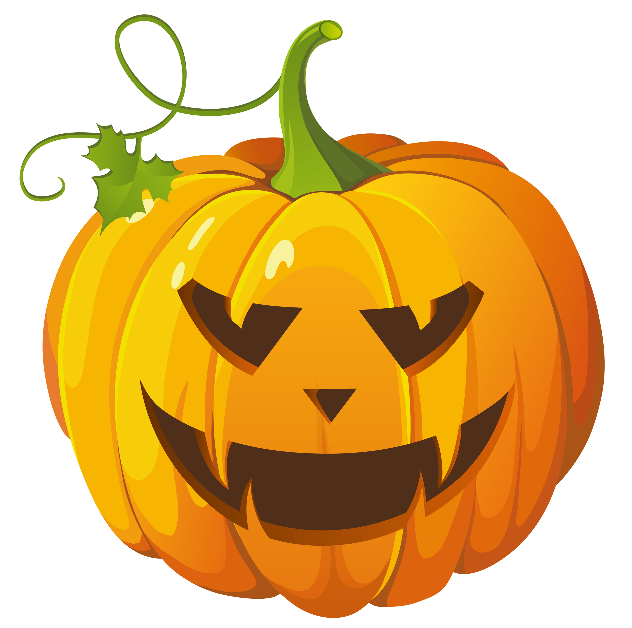 Transparent Halloween Pumpkin Png Clipart png black and white