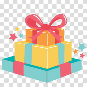 Transparent clipart receive a gift jpg library library S, pile of three assorted-color gift boxes transparent ... jpg library library