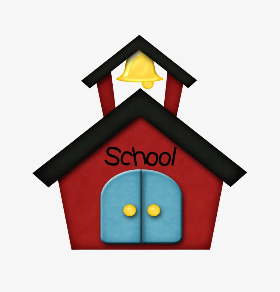 Coloring Pages Clip Art School House Schoolhouse Clipart ... vector transparent