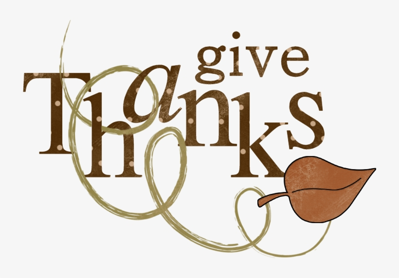 28 Collection Of We Give Thanks Clipart - Word Thanksgiving ... graphic library stock