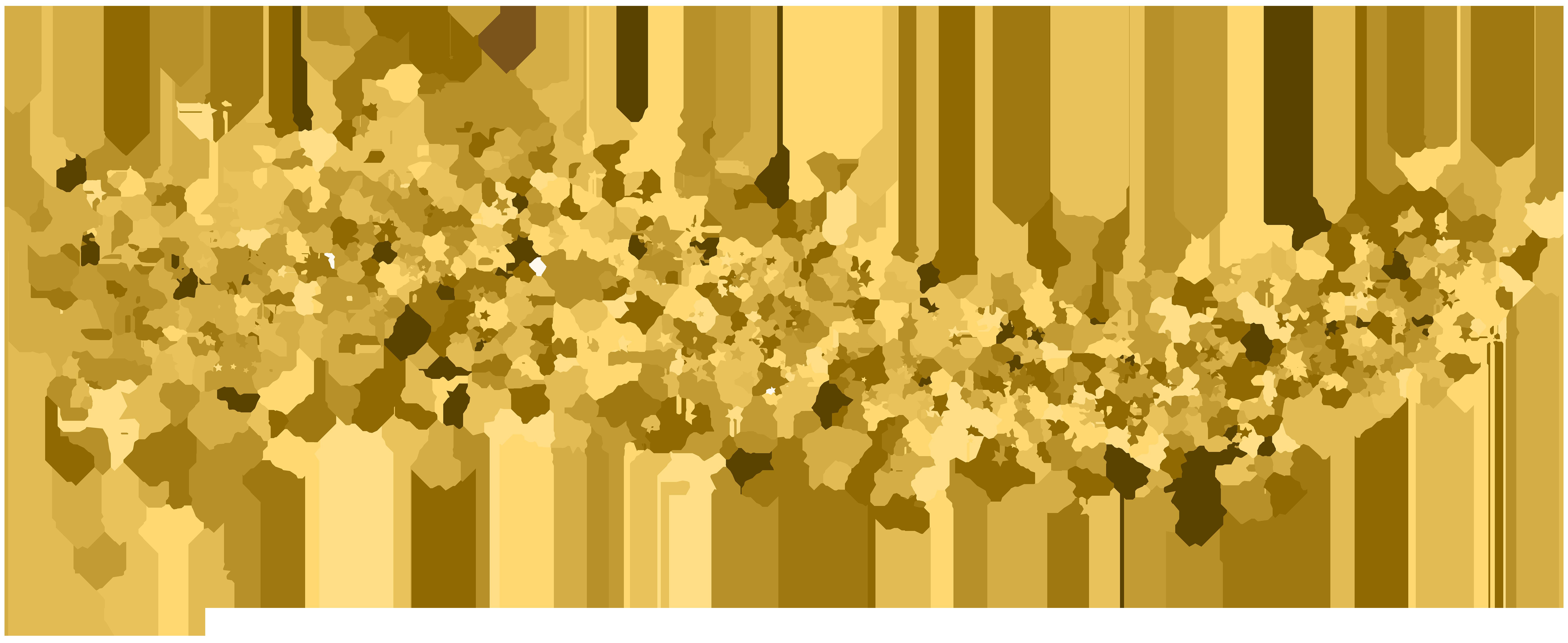 Deco Stars Transparent Clip Art Image | Gallery ... freeuse