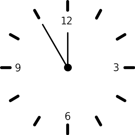 Free Clock Png, Download Free Clip Art, Free Clip Art on ... svg black and white stock