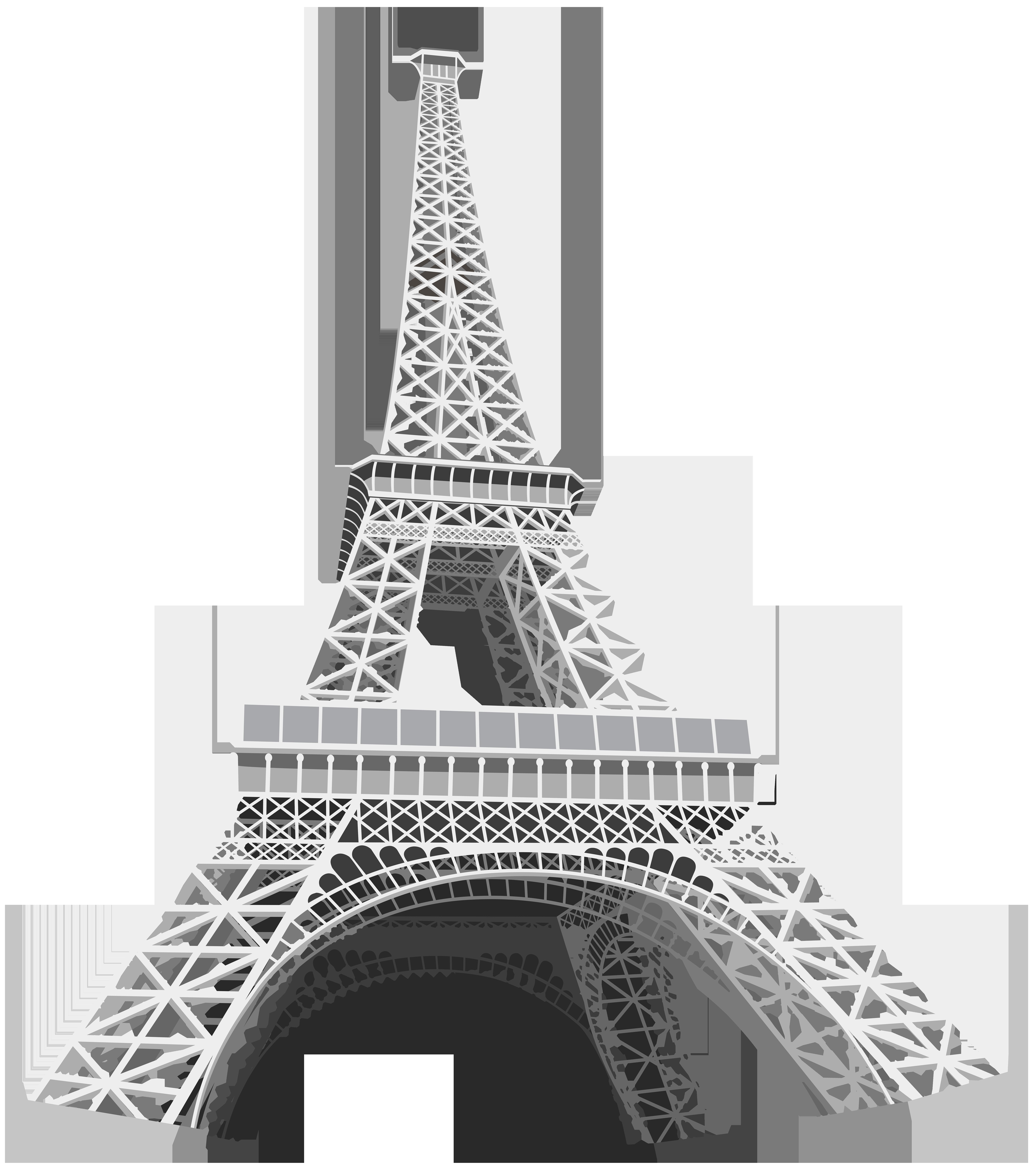 Transparent eiffel tower clipart clip black and white download Eiffel Tower Transparent Clip Art Image | Gallery ... clip black and white download