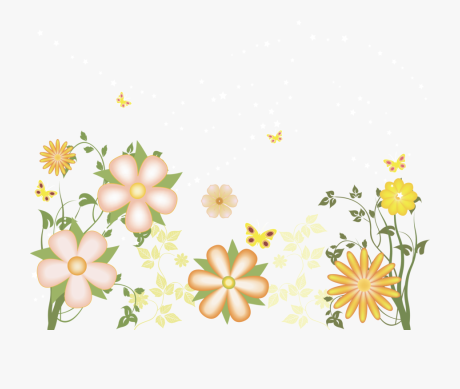 Transparent floral clipart picture Free May Clip Art Clipart - Transparent Floral Border ... picture
