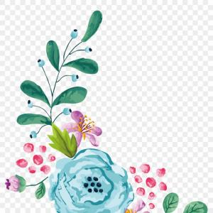 Transparent floral clipart graphic royalty free stock Transparent Pink Flowers Vector Clipart | SOIDERGI graphic royalty free stock
