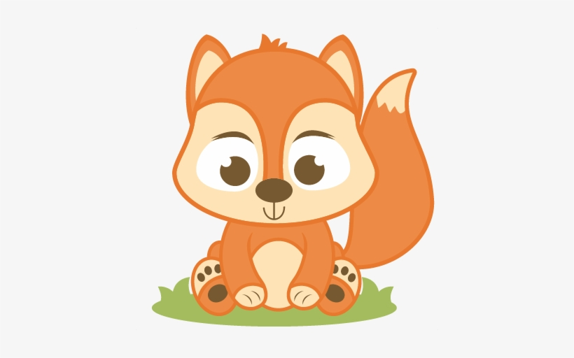 Transparent free baby fox clipart vector free download Red Squirrel Clipart Baby Squirrel - Baby Fox Clipart Png ... vector free download