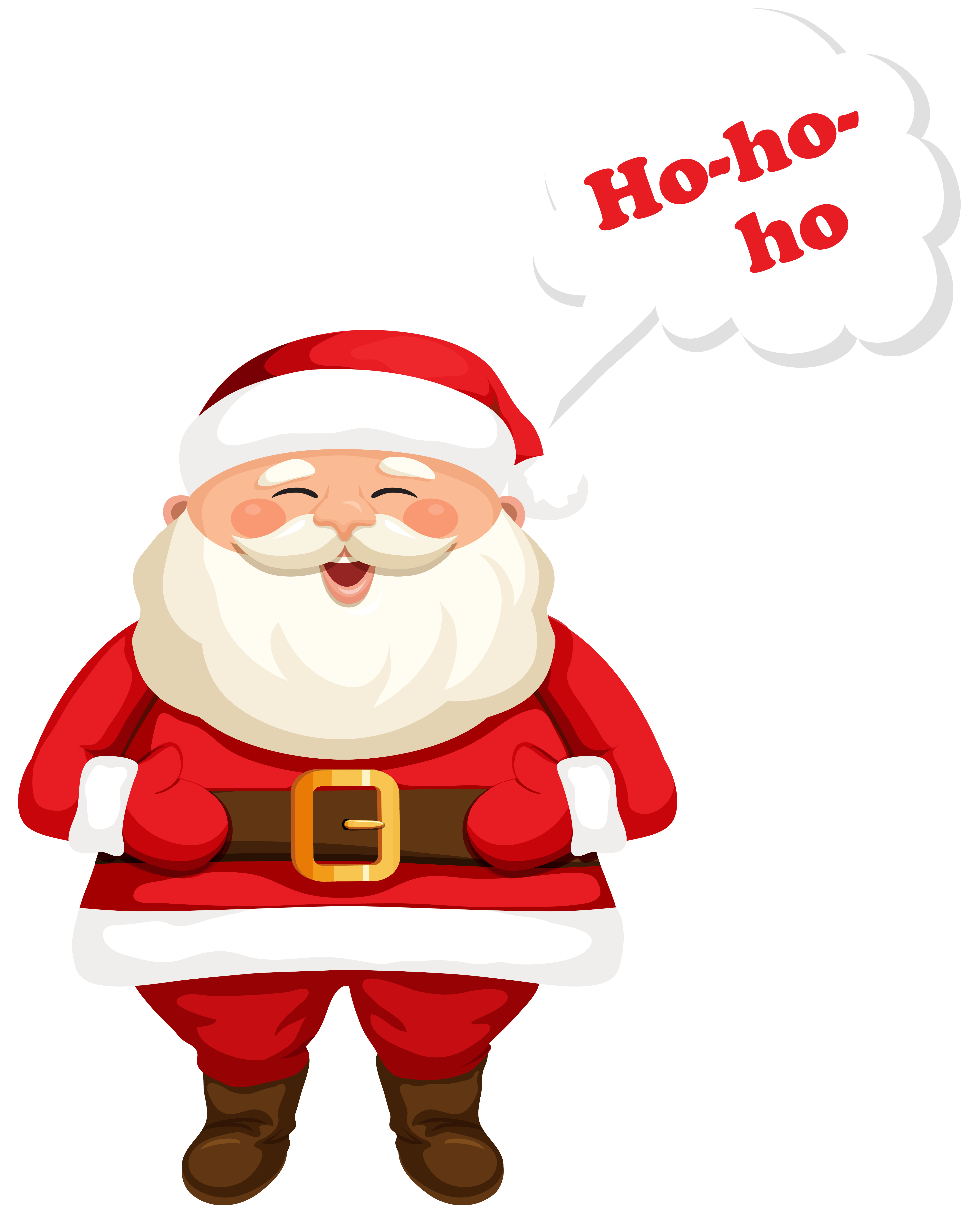 Transparent ho ho ho clipart png freeuse library Santa Claus Ho-Ho-Ho PNG Clipart Image | Gallery ... png freeuse library
