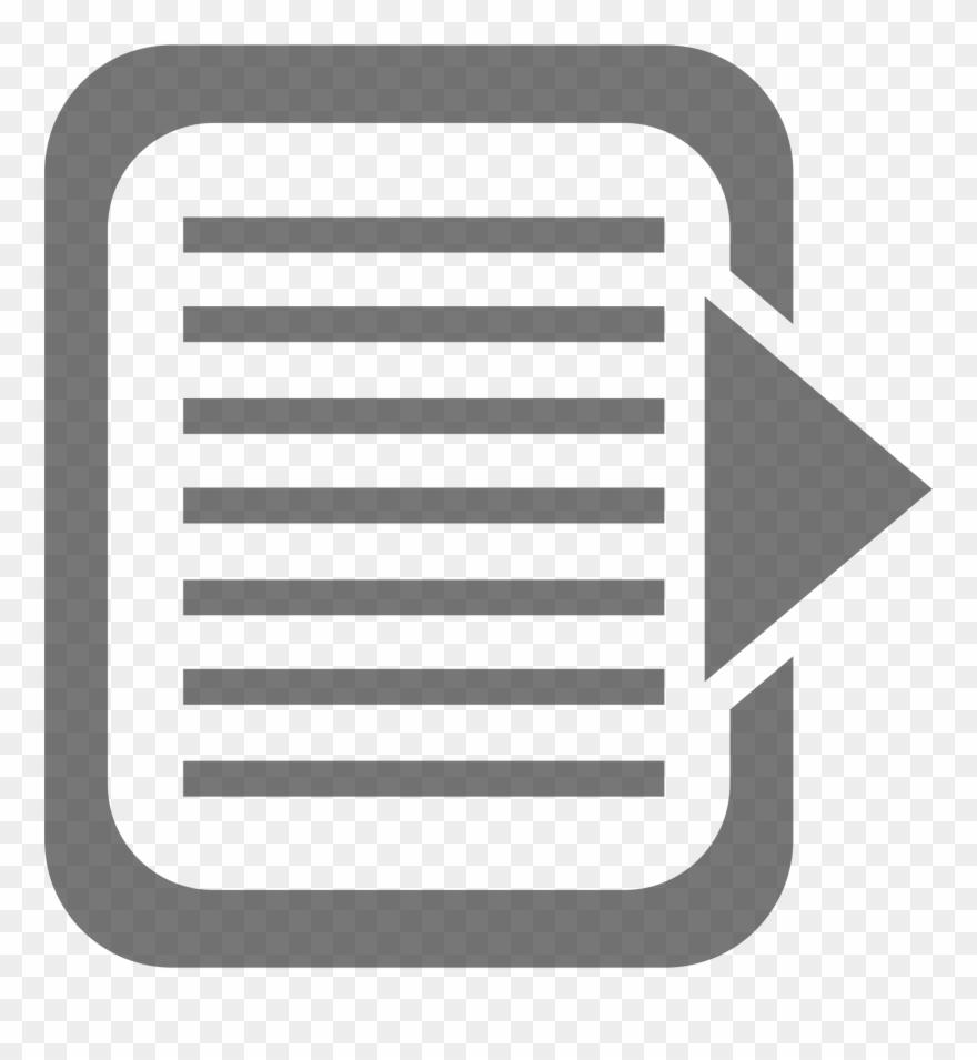 Transparent image clipart document clip art download Document Clipart Documentation - Export File Icon Png ... clip art download