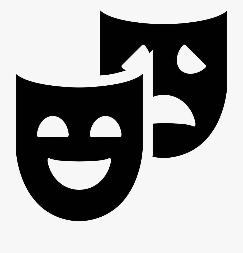 Transparent image download clipart graphic library library Theater Masks Clipart Free Download Clip Art - Theatre Masks ... graphic library library