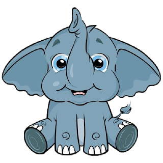 Transparent jpeg elephant clipart vector free library Elmer elephant clipart transparent - ClipartFest vector free library