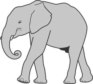 Transparent jpeg elephant clipart image freeuse library Elephant png clipart - ClipartFest image freeuse library