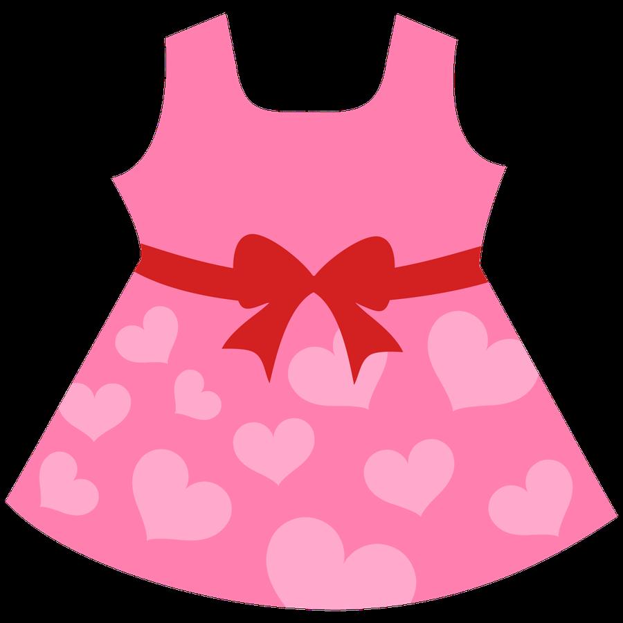 Little girl dress clipart 2 » Clipart Station clip black and white