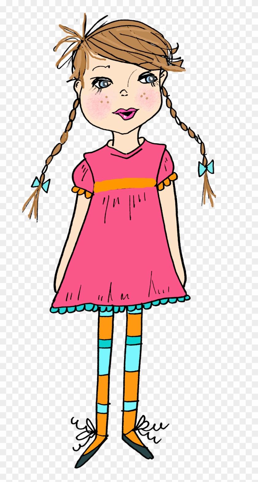 Little Girl Clipart Thinking - Little Girl Clipart ... banner freeuse library