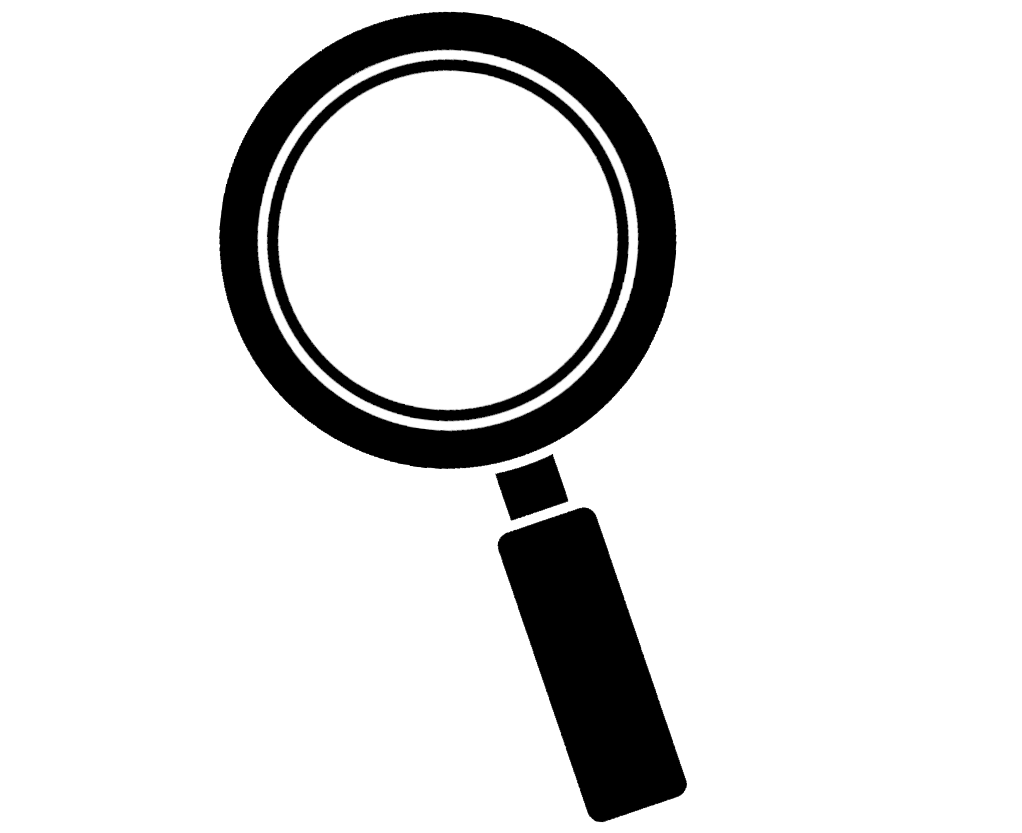 Magnifying Glass Clipart Transparent Background ... jpg black and white download