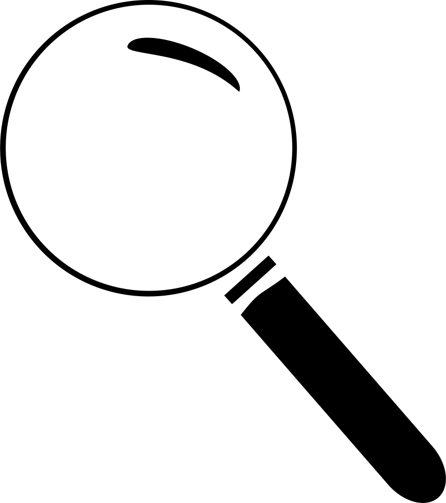Magnifying glass Transparency and translucency Computer ... svg freeuse library