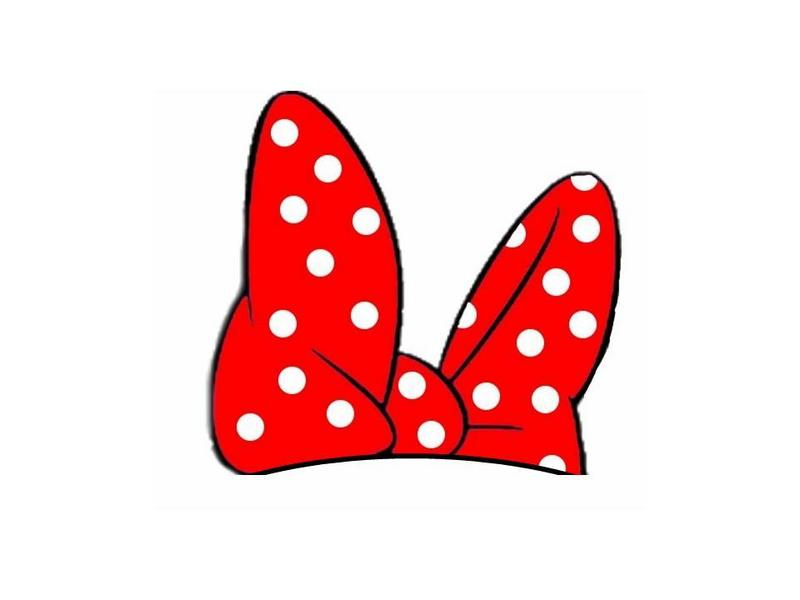 Transparent minnie mouse ears with red bow clipart png library stock Minnie Bow Clipart | Free download best Minnie Bow Clipart ... png library stock