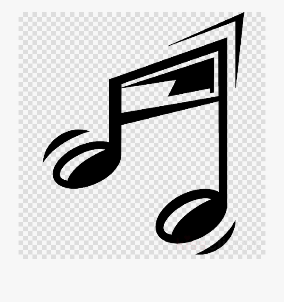 Transparent music clipart picture black and white stock Music Notes Png Cartoon - Transparent Music Notes Clipart ... picture black and white stock