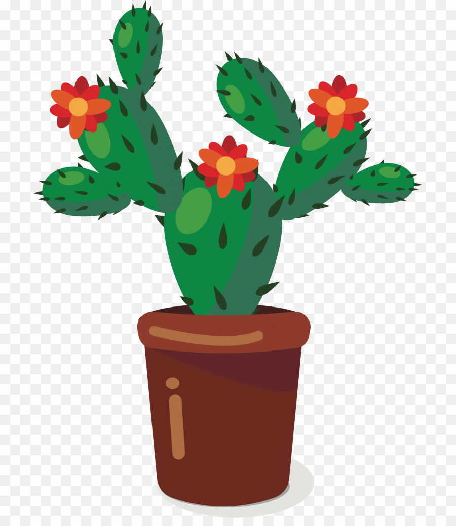 Transparent nopales clipart png black and white download Cactus Cartoon PNG Clipart download - 767 * 1024 - Free ... png black and white download