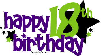Transparent number 18th birthday clipart vector free Free 18. Birthday, Download Free Clip Art, Free Clip Art on ... vector free