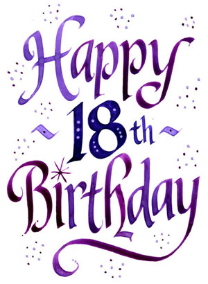 Transparent number 18th birthday clipart vector free stock 18th birthday clipart 1 » Clipart Station vector free stock