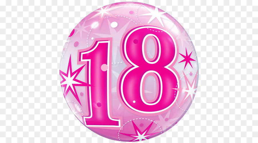 Transparent number 18th birthday clipart picture transparent download Birthday Party Background clipart - Birthday, Balloon, Party ... picture transparent download