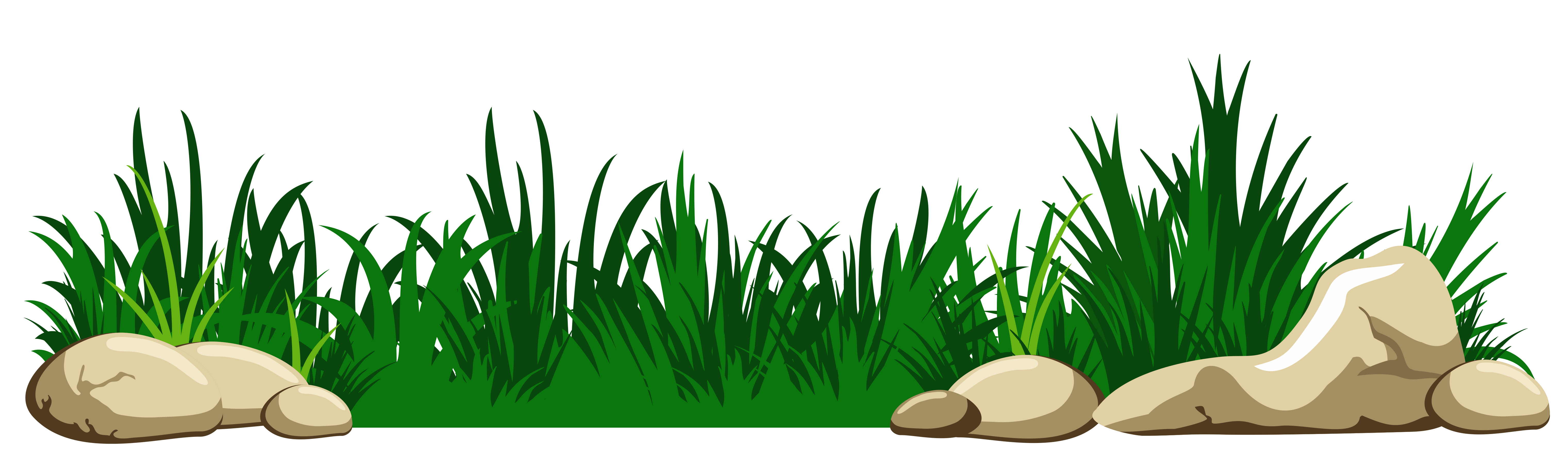 Fish tank plants clipart picture royalty free download Grass with Rocks Transparent PNG Clipart picture royalty free download