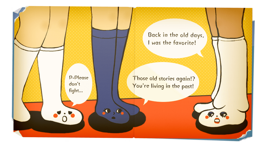 Transparent png clipart book pages clip download Image - Socki the Sock Book Page 3 (Eng).png | Danganronpa Wiki ... clip download