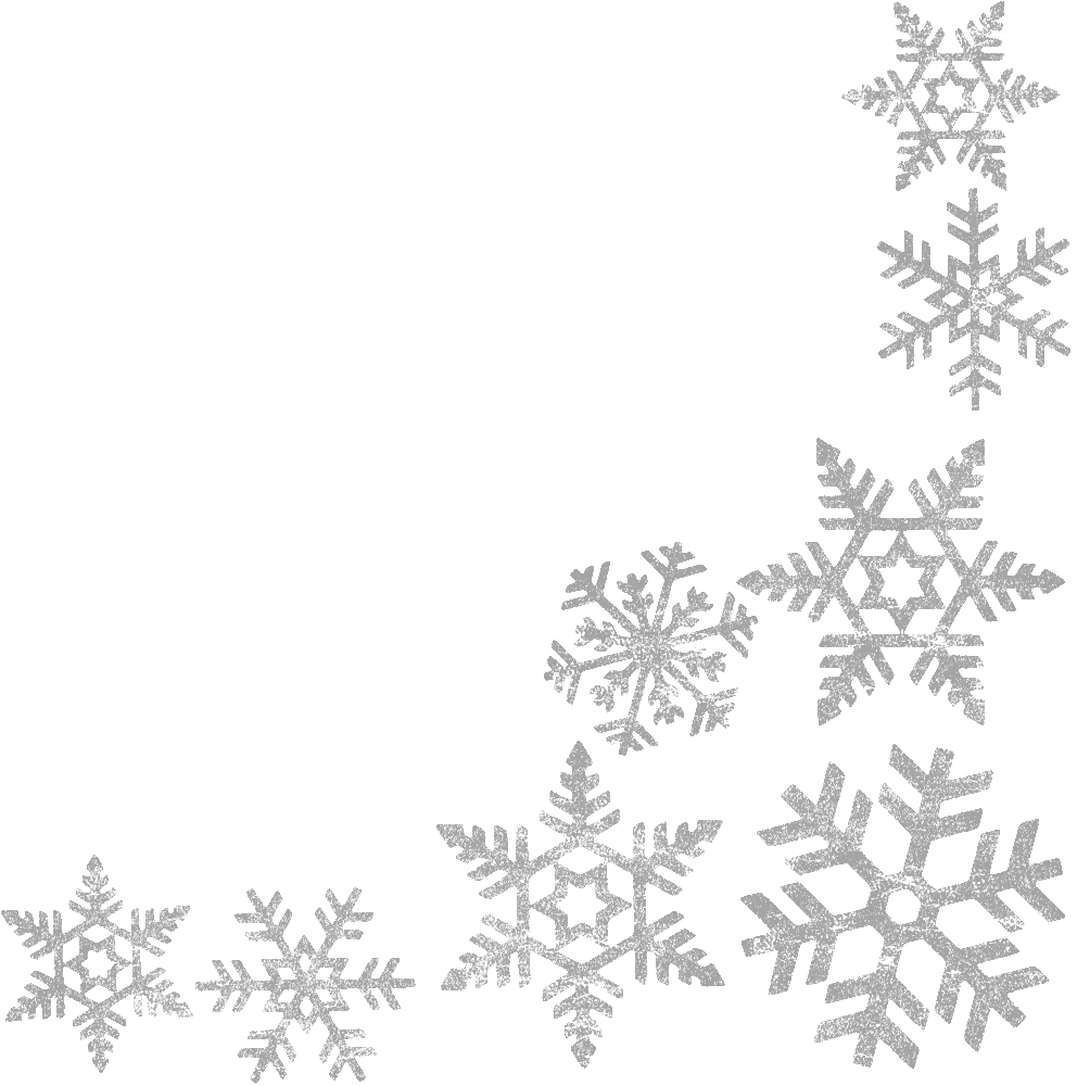 Transparent snowflakes clipart png transparent library Image result for snowflake border transparent | Borders ... png transparent library