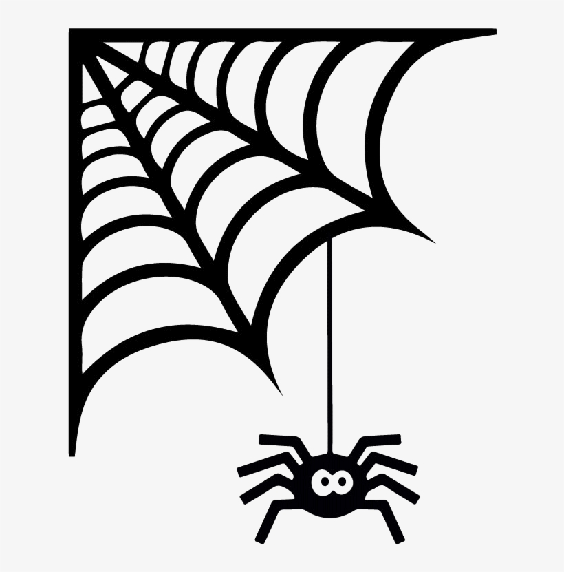 Transparent spider in corner clipart picture royalty free stock Corner Spider Web Svg - Free Transparent PNG Download - PNGkey picture royalty free stock