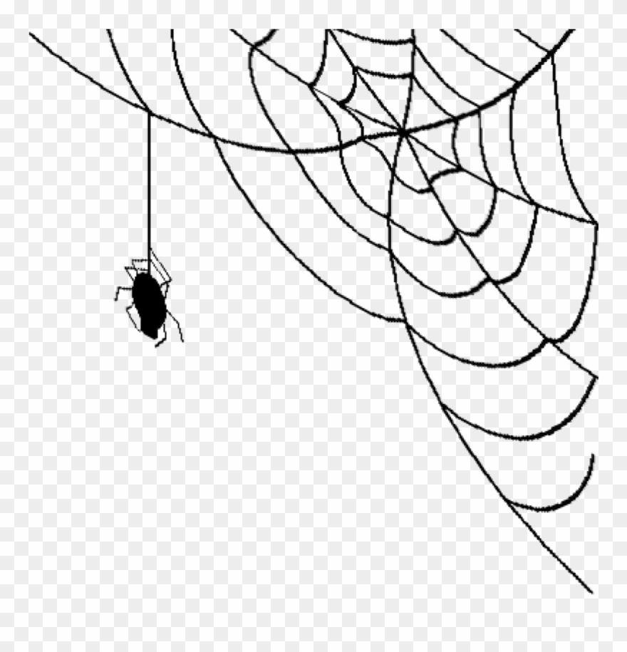 Transparent spider in corner clipart picture library library Spider Web Png Transparent Mart School Clipart - Spider Web ... picture library library